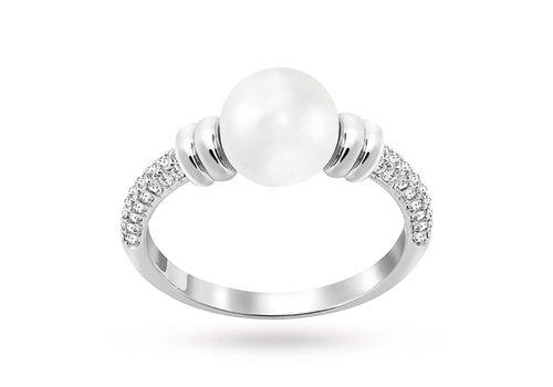 Swarovski Enlace Ring Silver