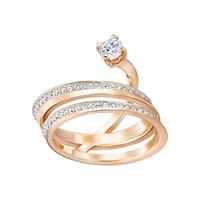 Fresh ring med rose
