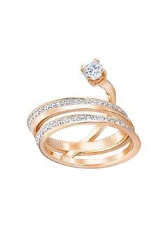 Swarovski Fresh ring med rose