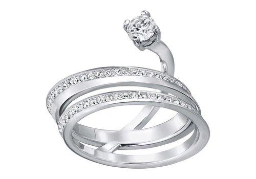 Swarovski Fresh ring med silver