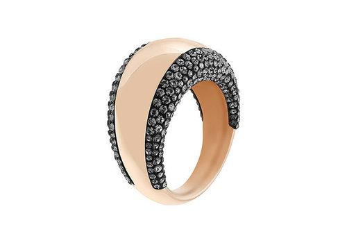 Swarovski Pebble Ring Rose