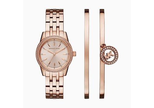 Michael Kors Ritz dames horloge Giftset MK3744