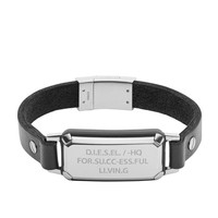 Leather Spec armband DX1018040