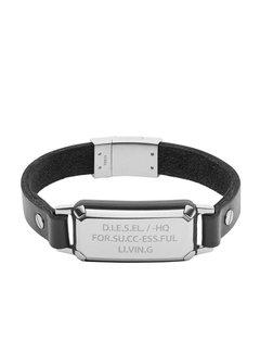 Diesel Leather Spec armband DX1018040