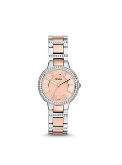 Fossil Virginia dames horloge ES3405