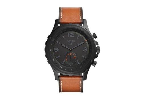 Fossil Hybrid Smartwatch heren horloge Q Nate FTW1114