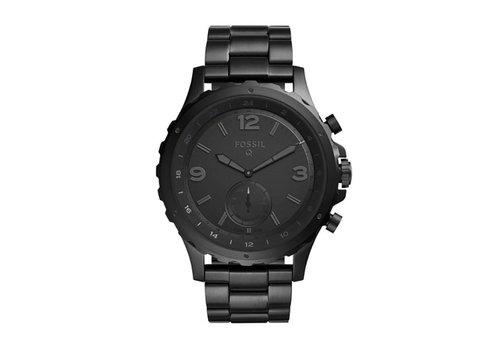 Fossil Hybrid Smartwatch heren horloge Q Crewmaster FTW1115