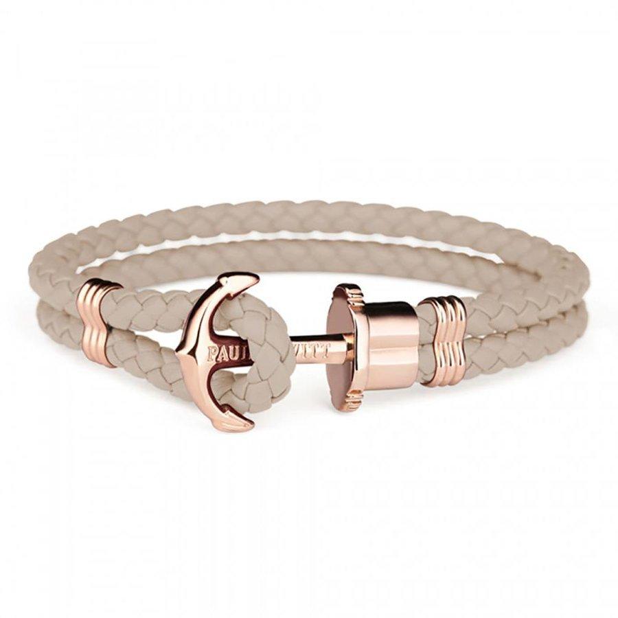 Leather bracelet Hazelnut PH-PH-L-R-H