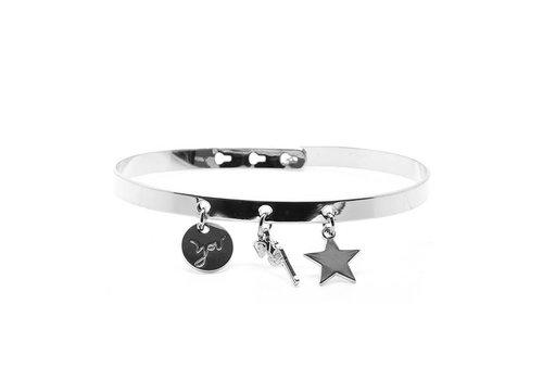 """Mya Bay """"You"""" tassel bracelet BP-21.S"""