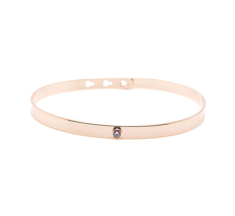 Unique bracelet pink JP-04.P