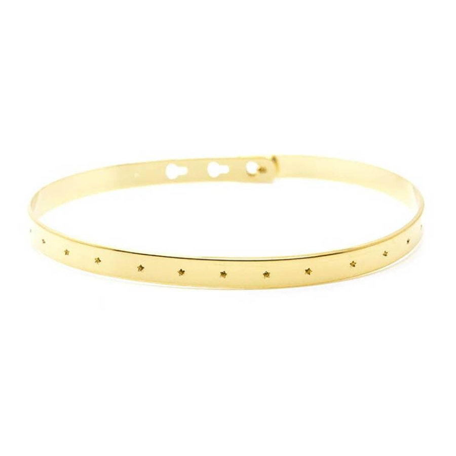 Bracelet with Small Stars JC-37.G