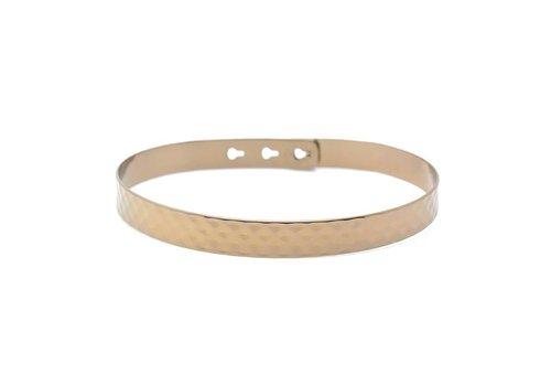Mya Bay Hammered bracelet large JL-07.C