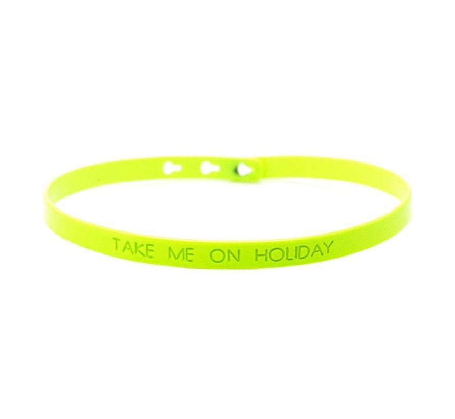 """Take me on holiday"" bracelet SC-13"