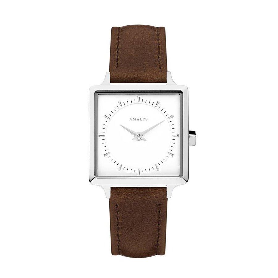 Lila dames horloge AMW-009