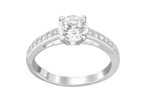 Swarovski Attract Ring Round silver 5032921 size 55