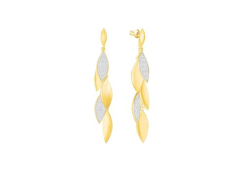 Swarovski Grape Pierced Earrings Long 5264814