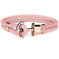 Leather bracelet Rose gold Aurora PH-PH-L-R-A