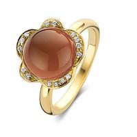 ring Lilly Bloom 20R125Ysqaranmpbrdia