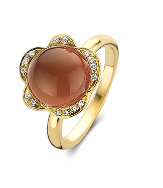 Bigli ring Lilly Bloom 20R125Ysqaranmpbrdia