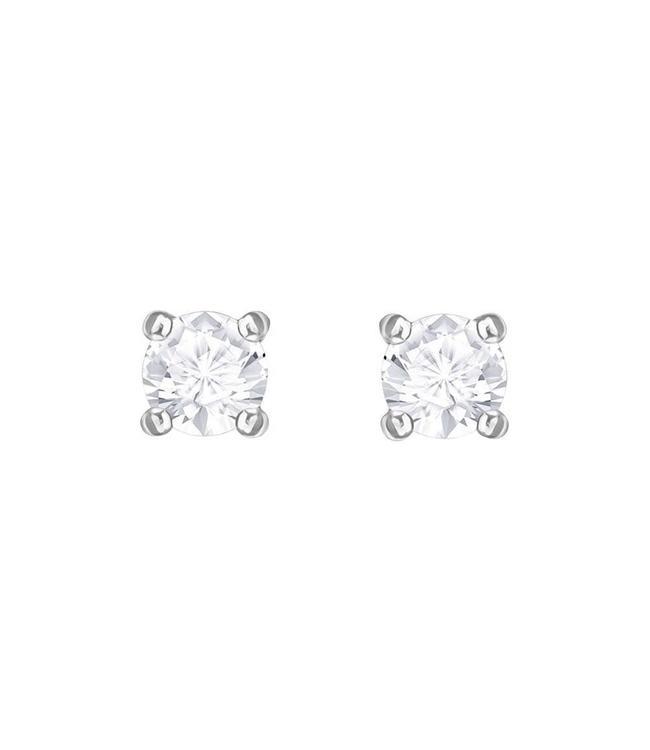 Swarovski Attract pierced earrings round 5408436