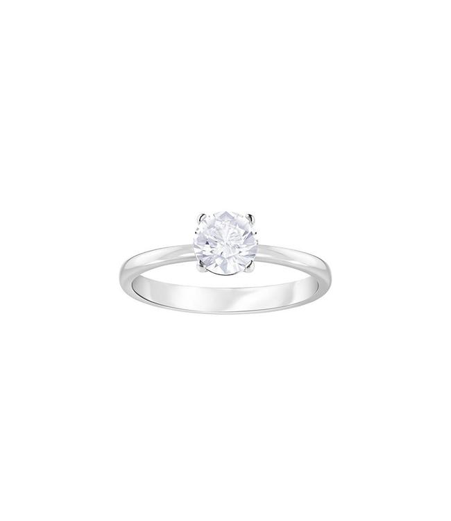 Swarovski Attract Solitaire ring