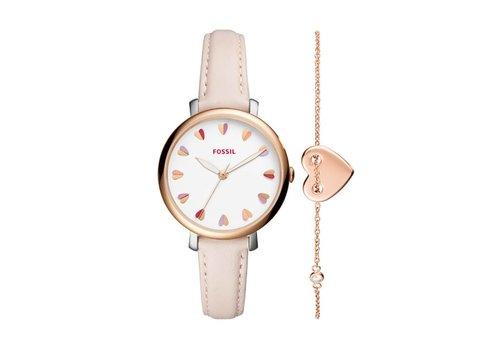 Fossil Jacqueline dames horloge Set ES4351SET