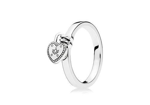Pandora ring Love Lock 196571