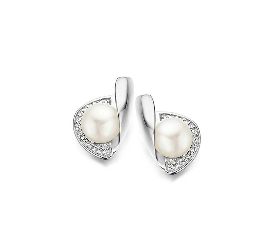 oorbellen fresh water pearl O/9246