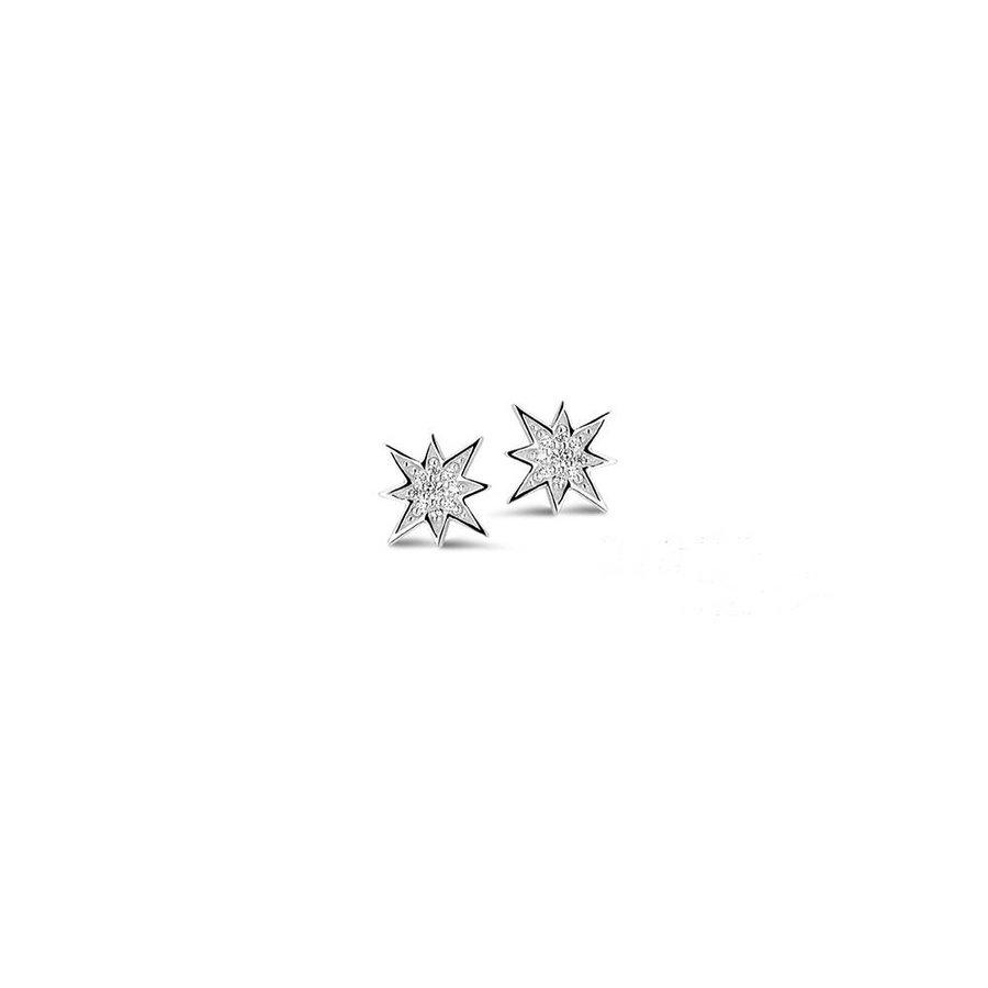 oorbellen Ster O/2455