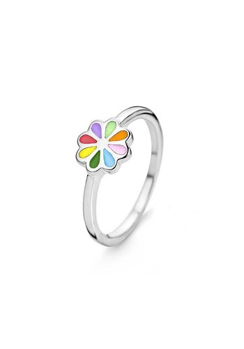 Orage Kids ring Bloem multicolor R/3312