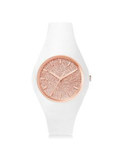 Ice Watch ICE glitter - White Rose-Gold - Medium 001350