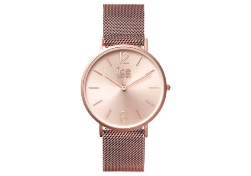Ice Watch City Milanese - Rose Gold Matte Rose gold dial - Small 012710