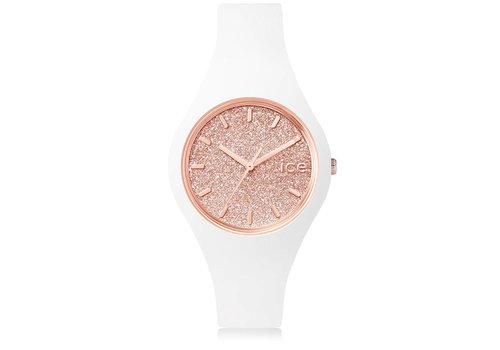 Ice Watch Ice Glitter - White Rose gold - Small 001343
