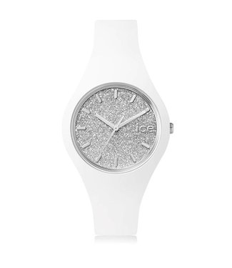 Ice Watch Ice Glitter - White Silver - Small 001344