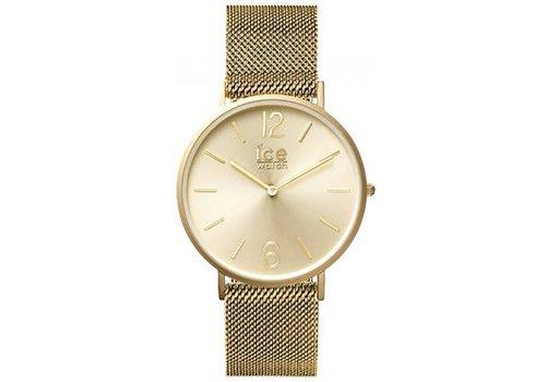 Ice Watch City Milanese - Gold Matte gold dial - Medium 012704