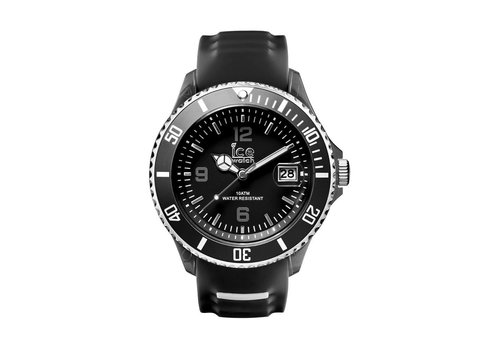 Ice Watch Ice sporty - Black White - Medium SR.3H.BKW.U.S.15
