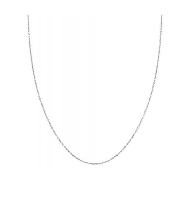 Blush ketting 14kt 3046WGO/45