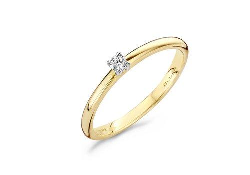 Blush Diamonds ring 14kt Diamonds 1601BDI 0.06ct