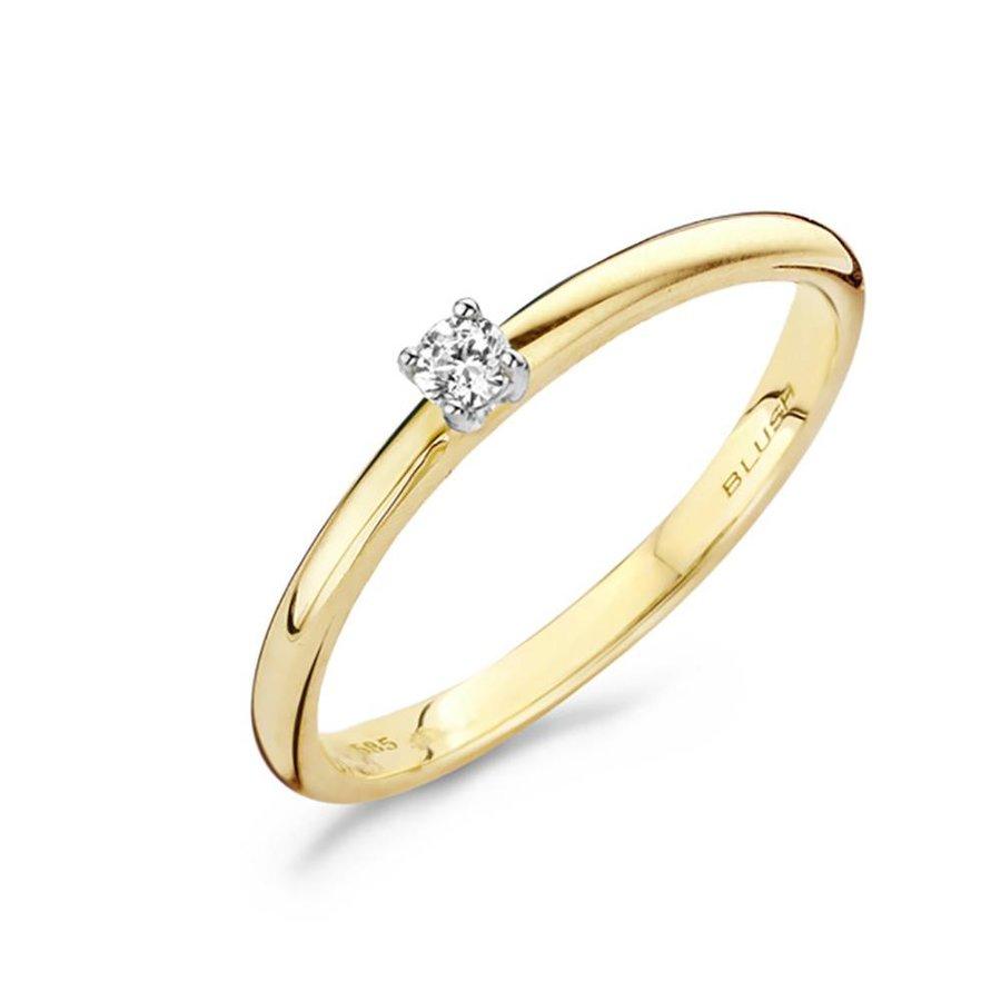 ring 14kt Diamonds 1601BDI 0.06ct