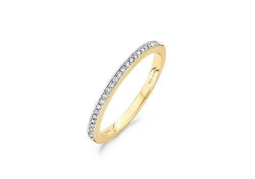 Blush Diamonds ring 14kt Diamonds 1607BDI 0.10ct