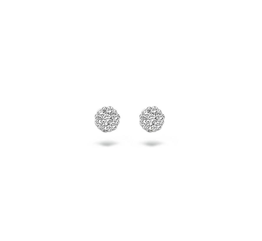 oorbellen 14kt Diamonds 7603WDI 0.10ct