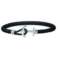 Anchor leather bracelet phrep lite PH-PHL-L-S-B