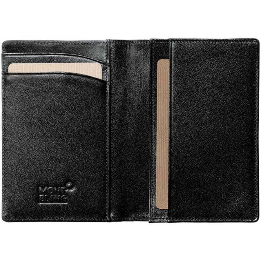 Meisterstück Business Card Holder with Gusset 7167