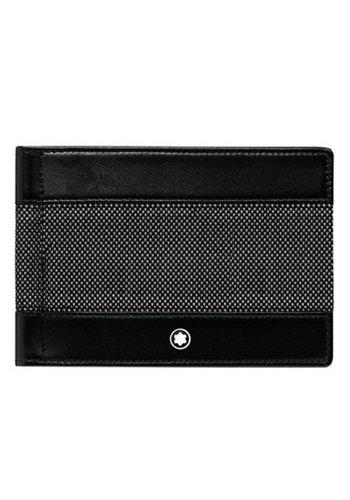 Montblanc Meisterstück Canvas Wallet 6cc with Money Clip 107350