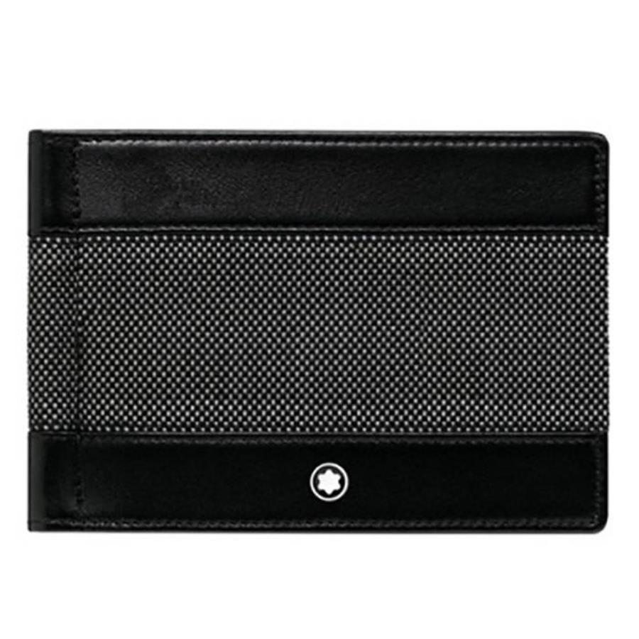 Meisterstück Canvas Wallet 6cc with Money Clip 107350