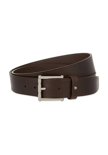 Montblanc Classic Leather Belt Square 111104