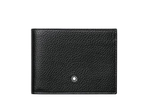 Montblanc Meisterstuck Soft Grain Wallet 6cc Black 113305