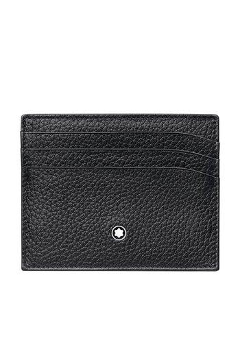 Montblanc Meisterstuck Soft Grain Pocket Holder 6cc Black 113309