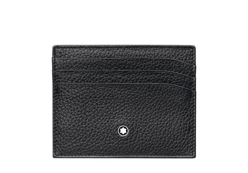 Montblanc Meisterstuck Soft Grain Pocket Holder 6cc Black 113309