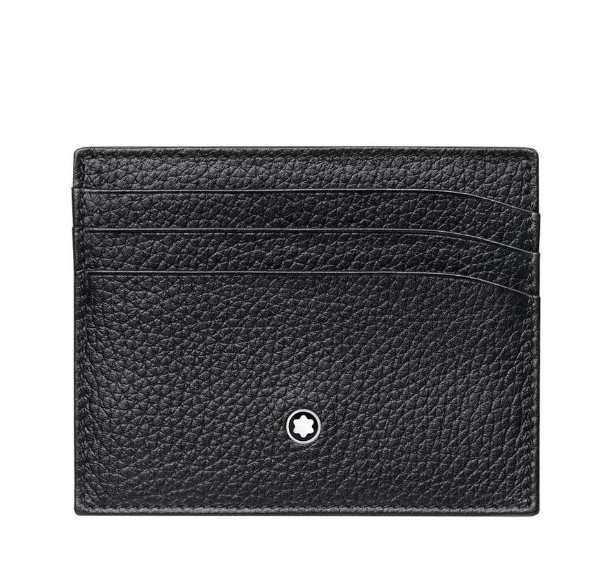 Meisterstuck Soft Grain Pocket Holder 6cc Black 113309